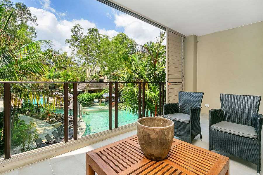 2 Bed Pool View Apartment
